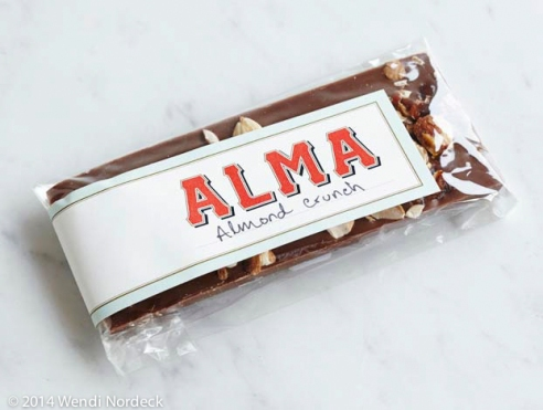 Alma Almond Crunch Bar from http://www.roux44.com