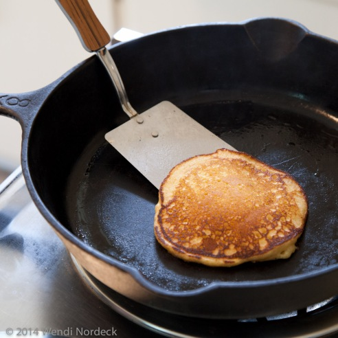 Cornmeal pancakes from http://roux44.com