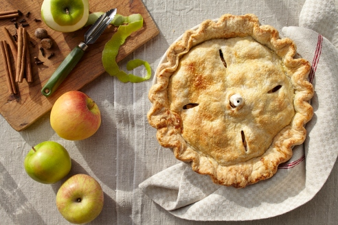 Apple pie from http://roux44.com
