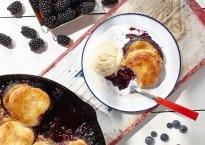 Blackberry cobbler from http://roux44.com