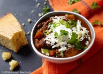 Pumpkin chili from http://roux44.com