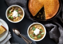 Green chile stew from http://roux44.com