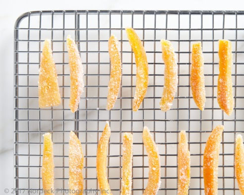 Candied orange peel from http://roux44.com