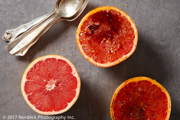 Brûlée grapefruit from http://roux44.com